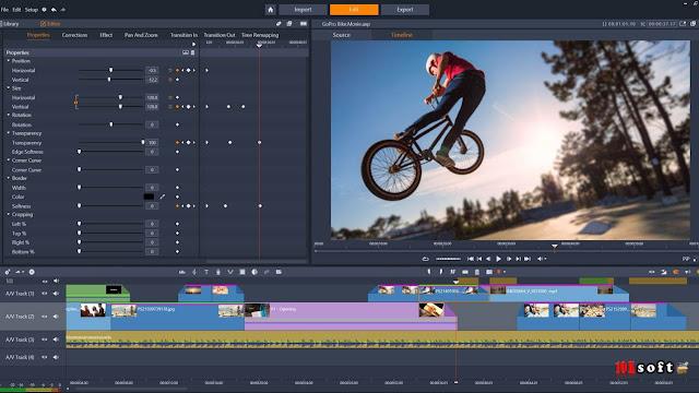 Pinnacle Studio 20 Ultimate v-20.6.0 Offline Installer Free Download