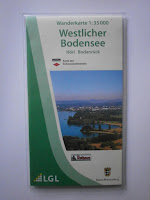 Wanderkarte 1:35.000 Westlicher Bodensee in zweiter Auflage 2017
