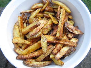 Oven Fries with Rosemary