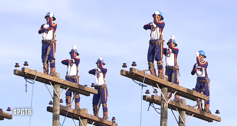 Linemen dance atop 35-ft high electric poles on Pilipinas Got Talent PGT 2018