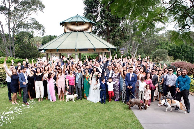 Nurragingy Reserve Wedding Ceremony Blacktown