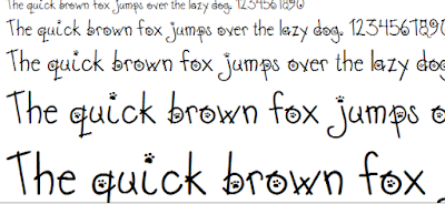 Font độc đáo , mẫu font động vật ngộ nghĩnh