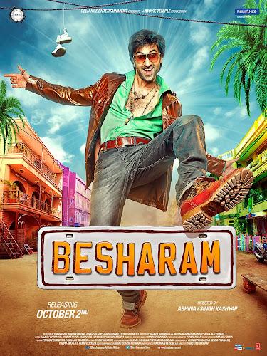 Besharam (2013) Movie Poster