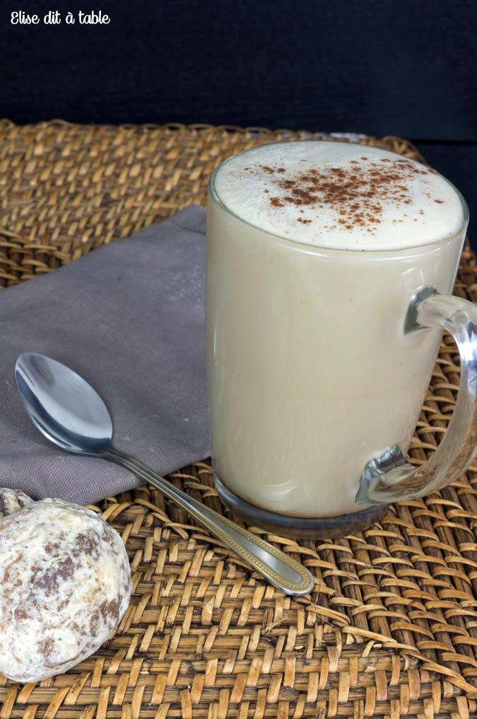 recette maca chaï latte vanille