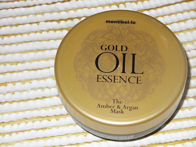 Recenzja: Bursztynowo- arganowa maska do włosów, Gold Oil Essence, Montibello