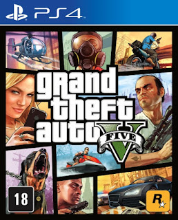 Grand Theft Auto V – GTA 5  PS4 4.05 PKG CUSA00411 EUR