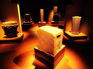 Museu Municipal de Concépcion de la Sierra - vasos esculpidos por índios guaranis.