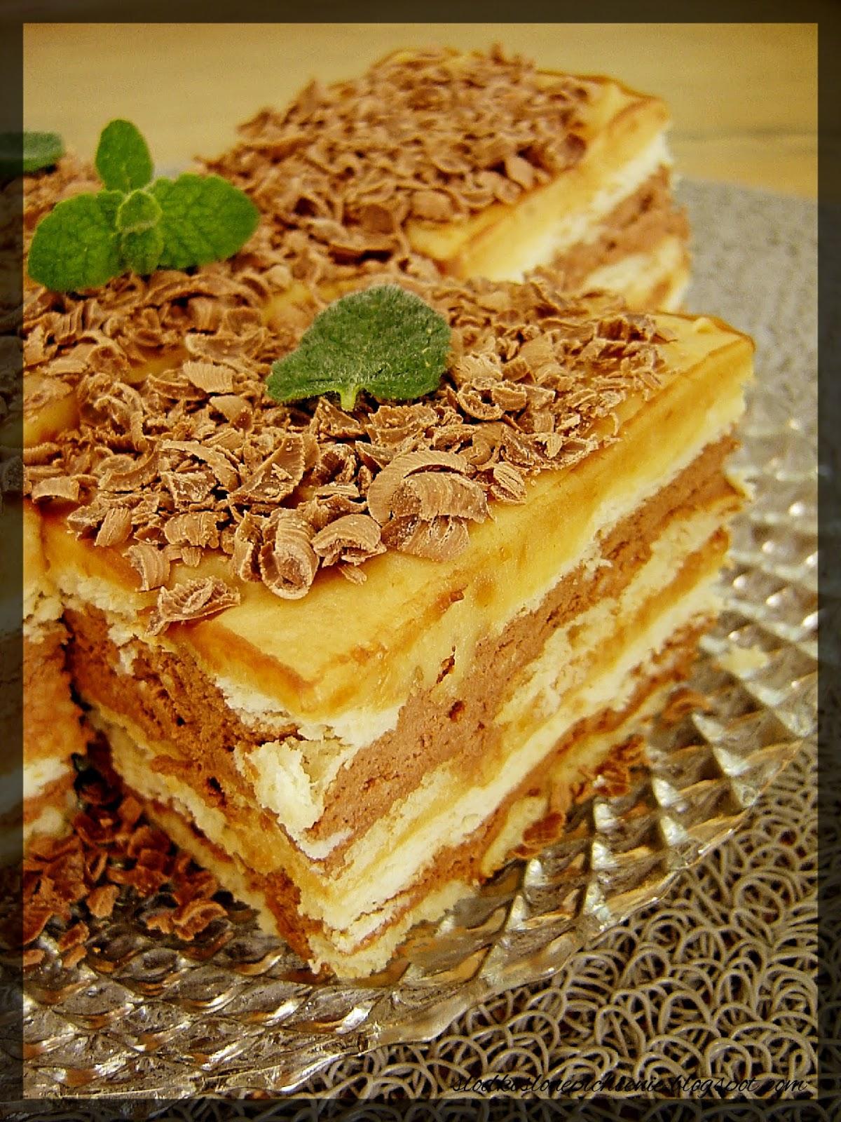 Ciasto orzechowo-czekoladowe (bez pieczenia)
