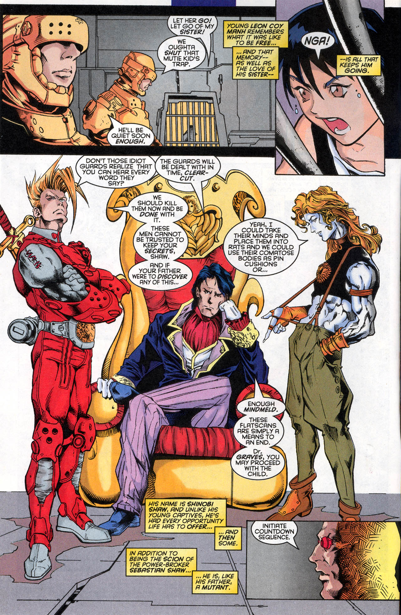 Read online X-Force (1991) comic -  Issue #62 - 4
