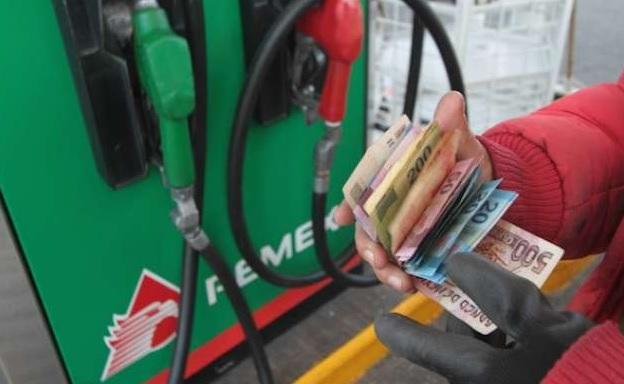 Pemex, gasolina