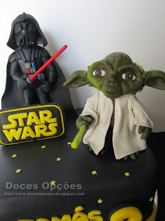 yoda star wars birthday cake