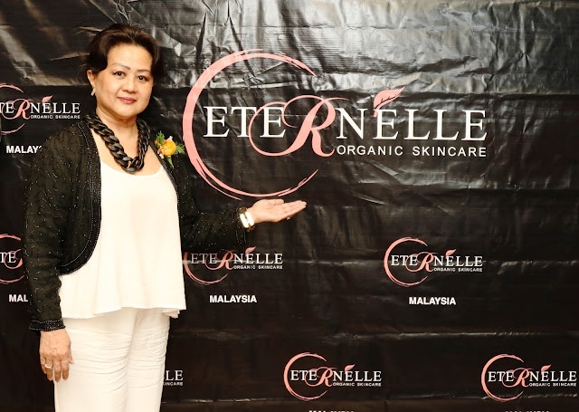 A new local product launched Eternelle Organic Skincare