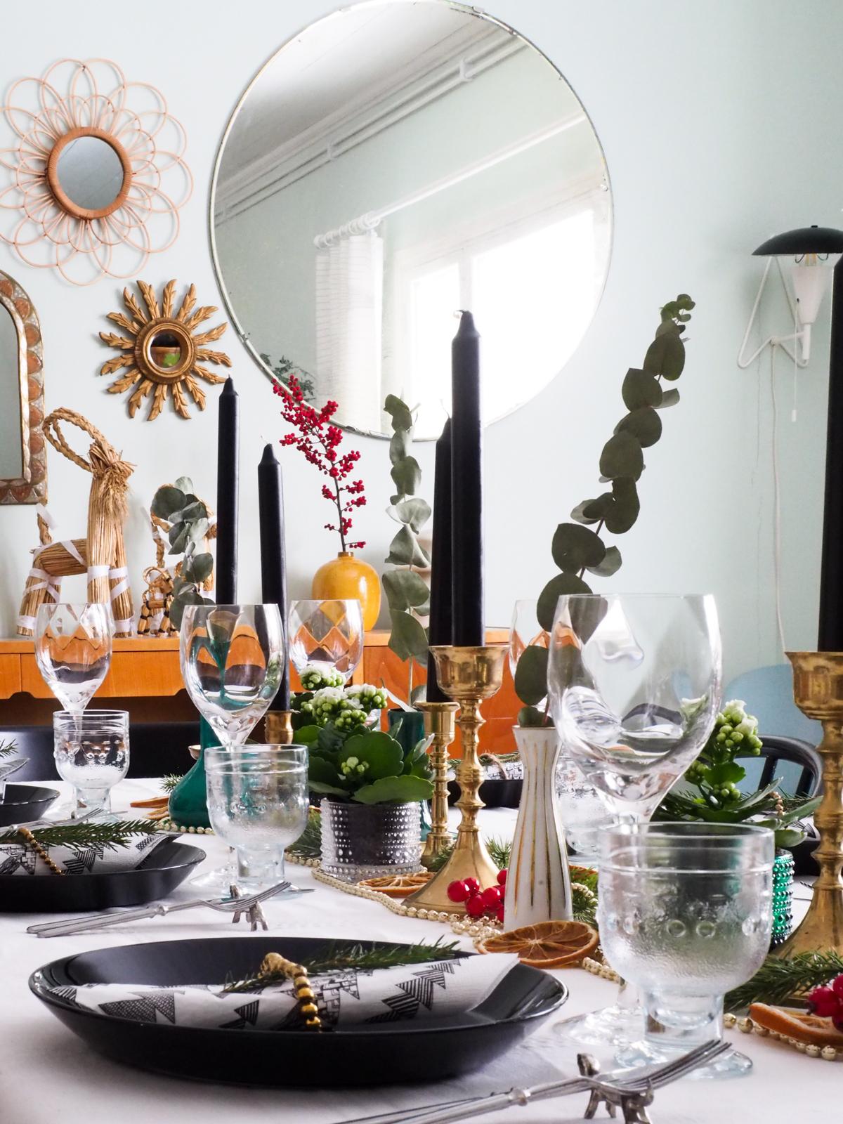 joulupöytä, joulu, kattaus