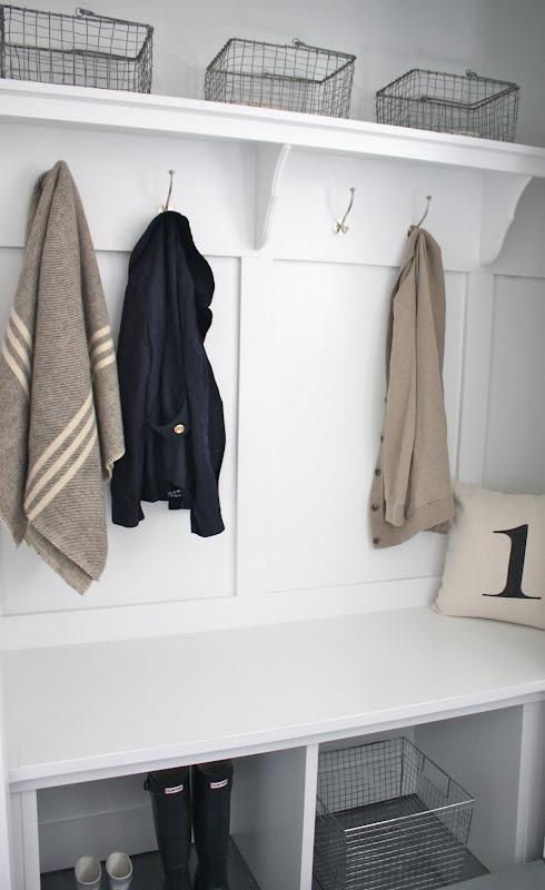 Closet Converted Mudroom Julie Blanner