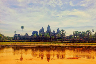 Touching Cambodia from Siem Reap