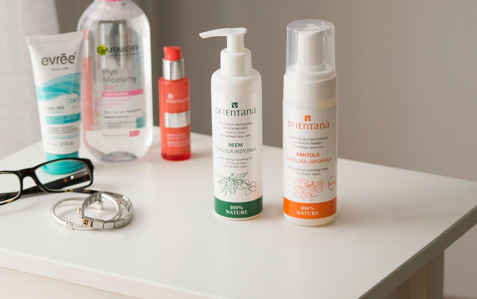 Orientana Bio Olejek do mycia twarzy