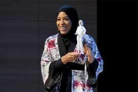 Watch: Olympian Ibtihaj Muhammad is getting her own hijab-wearing Barbie