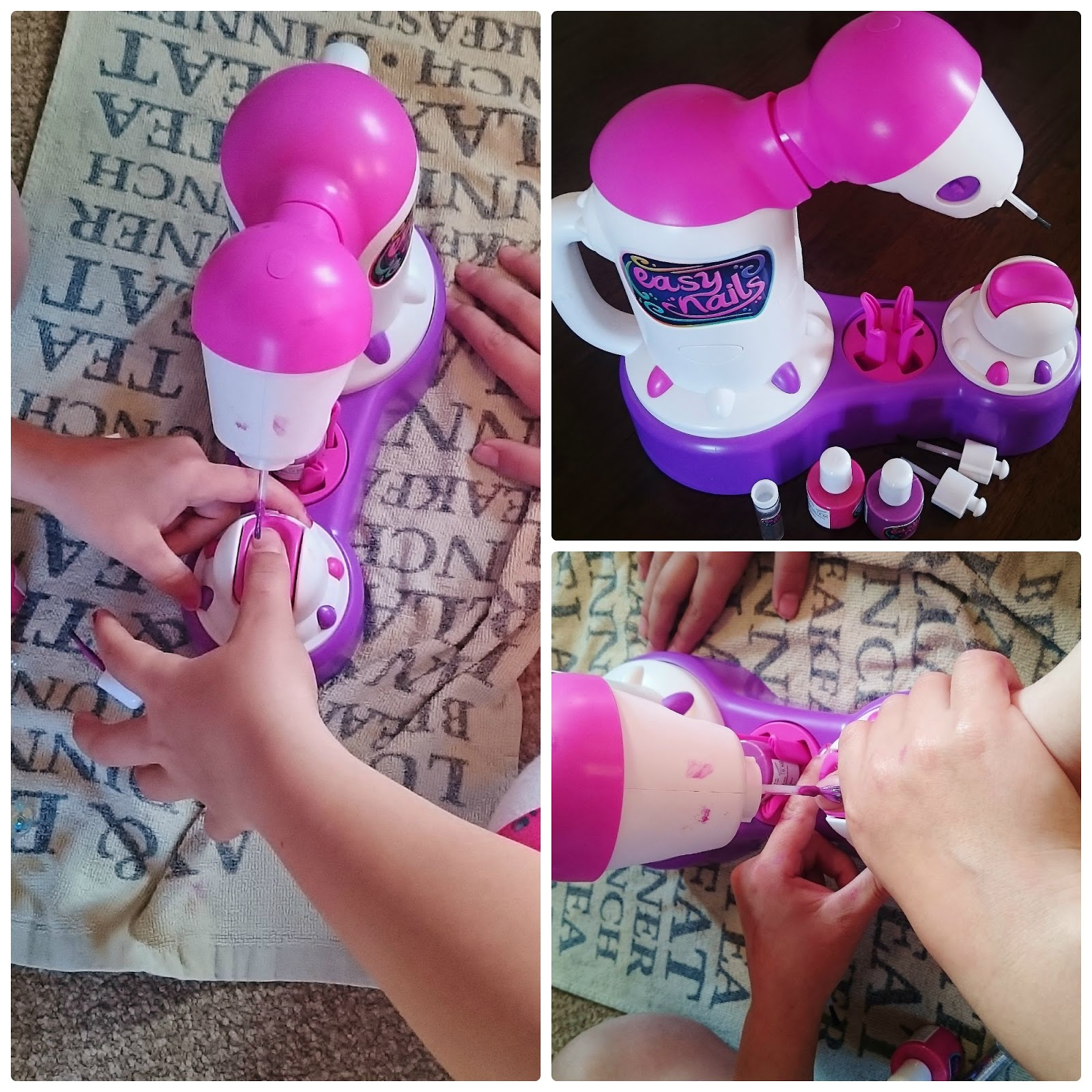 Wishful Wonderings: Easy Nails Nail Spa for Children