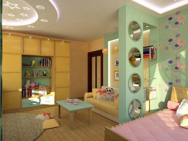 creative false ceiling ideas - Best 10 Creative KIDS ROOM False Ceilings Design Ideas