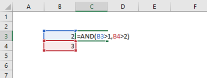 IF with AND formula