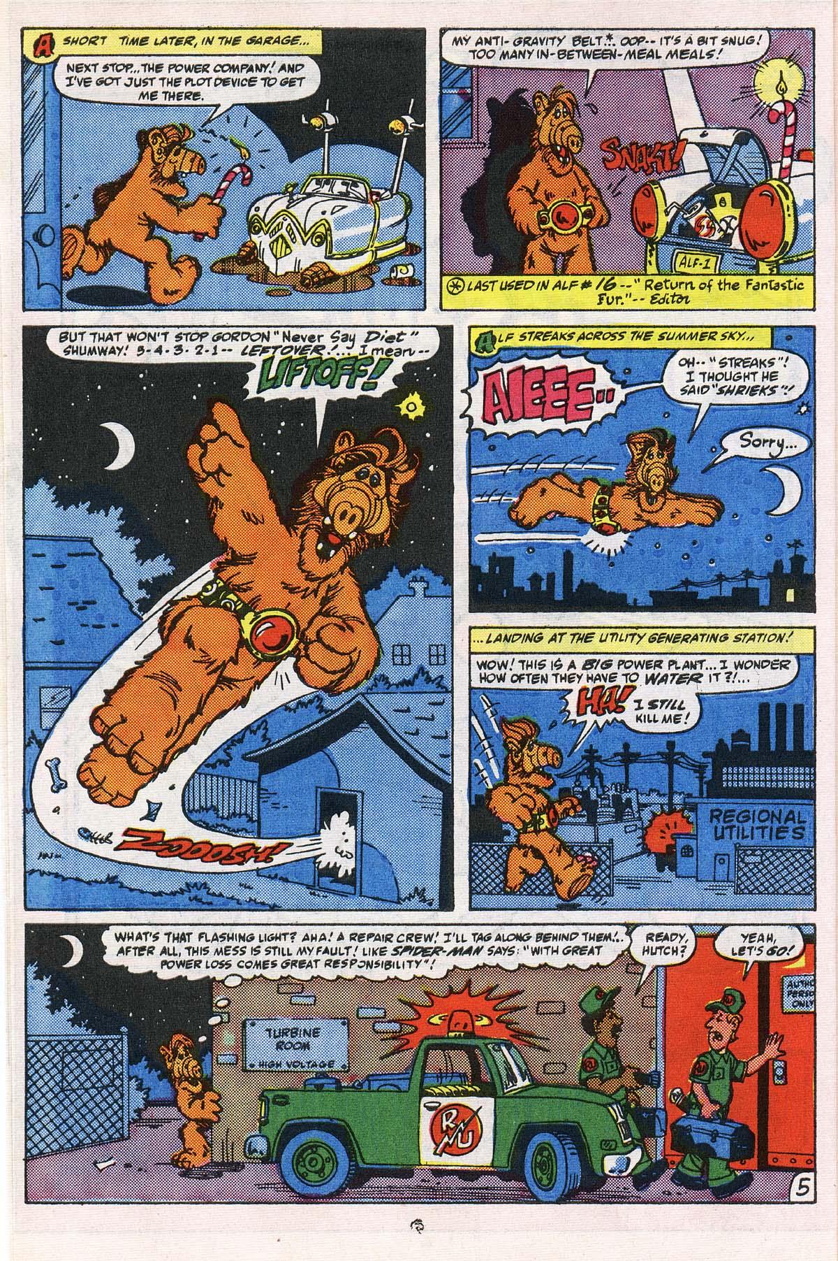 Read online ALF comic -  Issue # _Annual 2 - 6