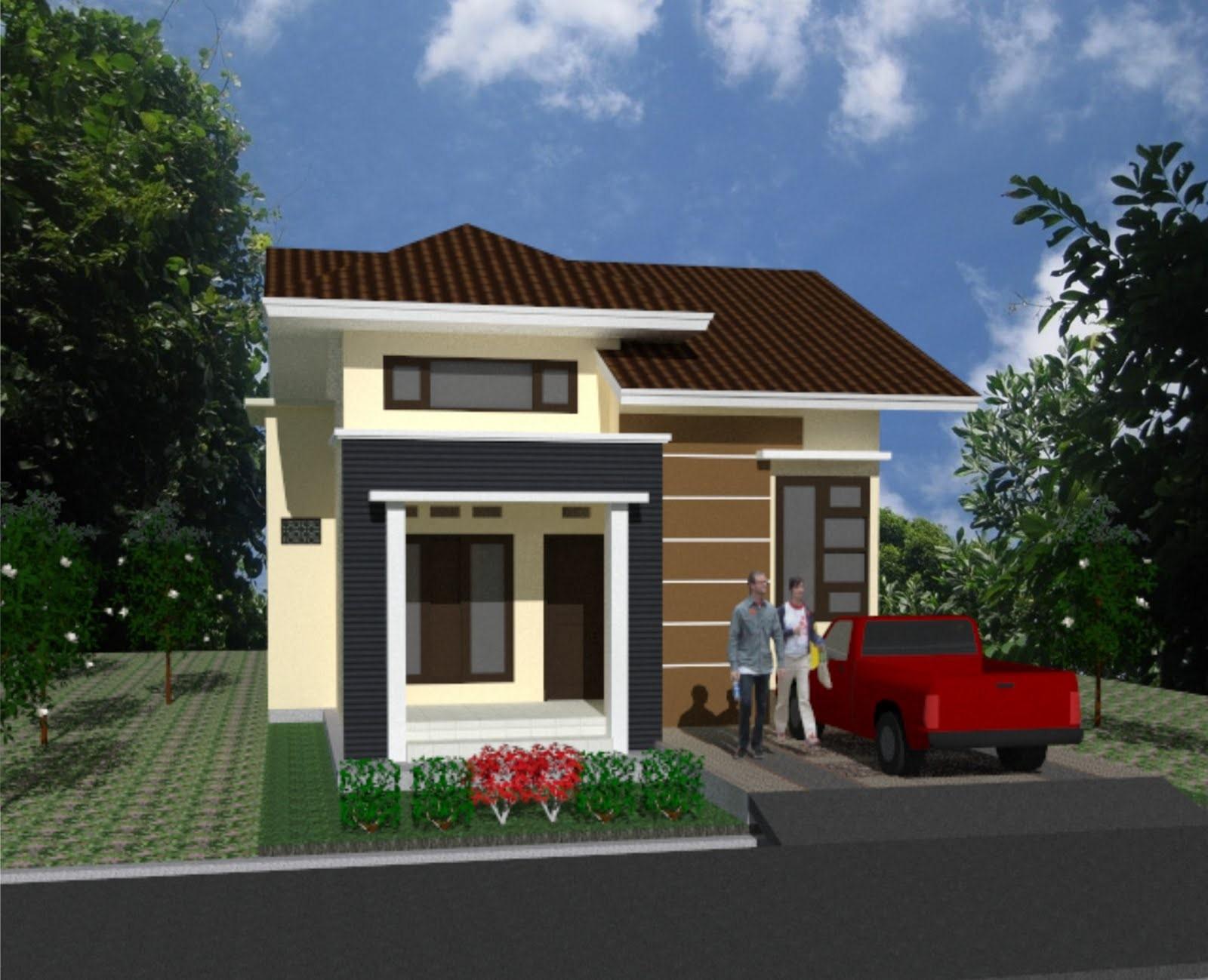 model rumah kampung 6