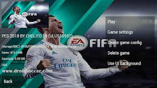PES CHELITO Mod FIFA 18 PSP Android