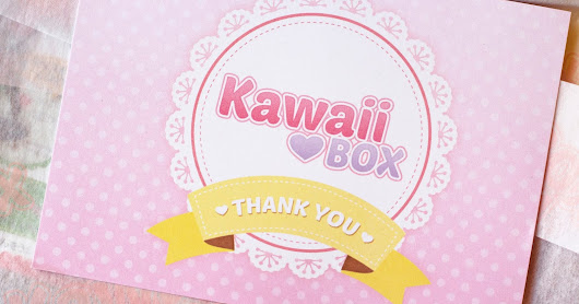 Unboxing: Kawaii Box For March 2016 (Review+Giveaway)(BG+EN)