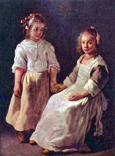 2 girls from 1640s