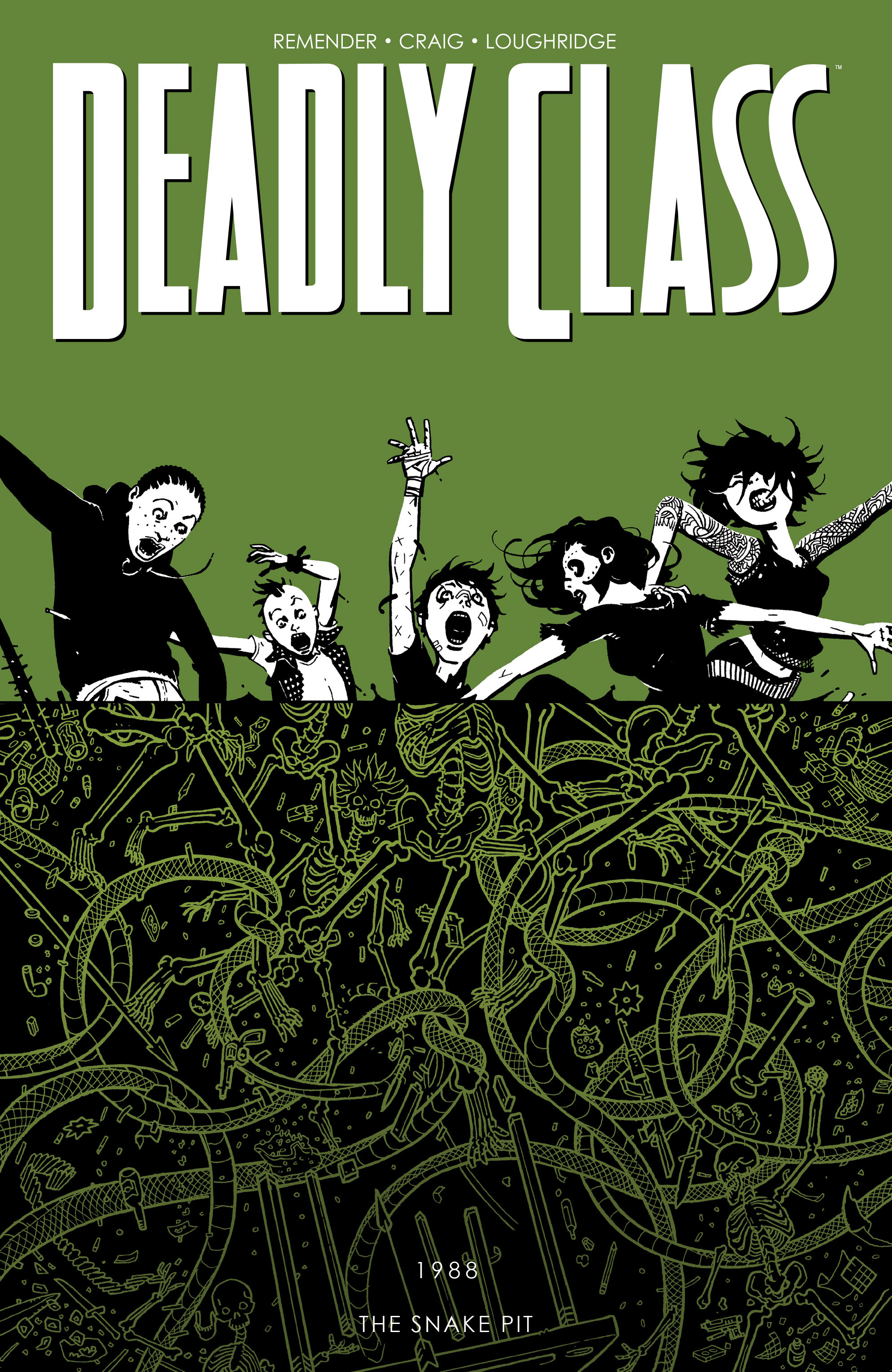 Read online Deadly Class comic -  Issue # _TPB 3 - 1