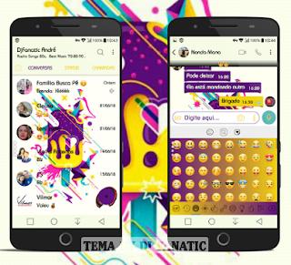 Icecream Theme For YOWhatsApp & Fouad WhatsApp By DJ