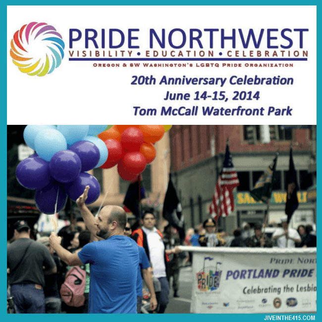Pride Northwest produces the  LGBT Gay Pride Parade and Festival in Portland