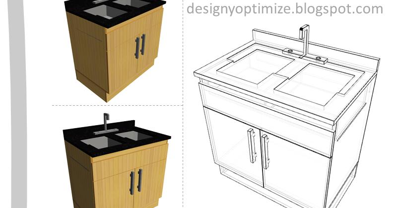 Dise o de muebles madera mueble para fregadero for Mueble fregadero cocina