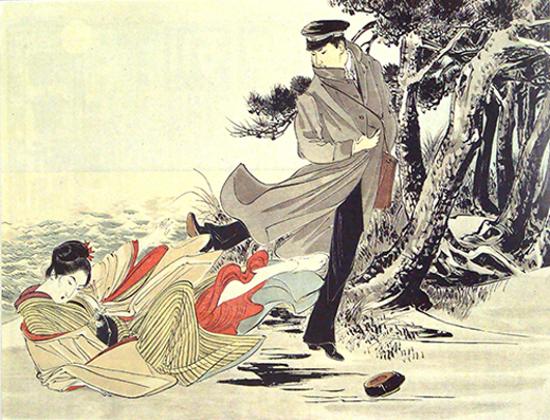Yomiuri Shimbun, Konjiki Yasha 1897