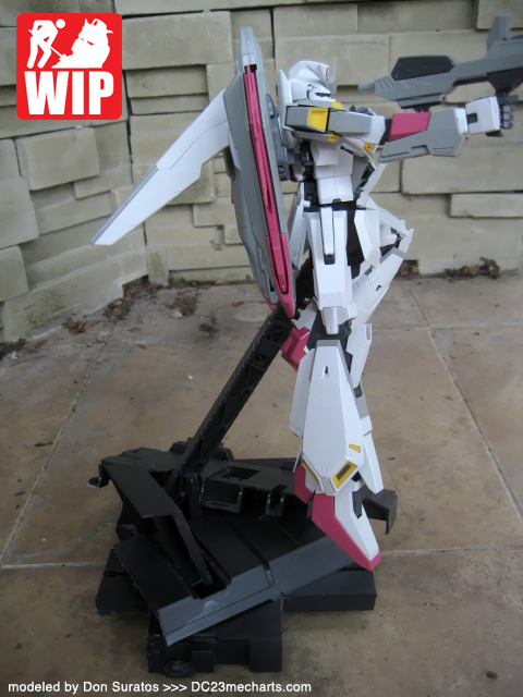 1 hour custom diorama for your Gundam model kits photo