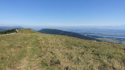 Chasseral-Gratweg auf knapp 1600 m