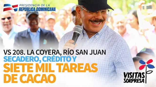 VIDEO: VS 208. La Coyera, Río San Juan. Secadero, Crédito y siete mil tareas de cacao