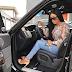 Toke Makinwa shows off her new Range Rover