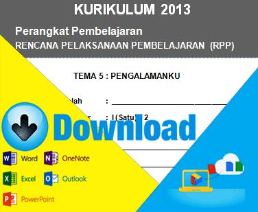 Download Rpp Kurikulum 2013 Kelas 1 Sd Tema Pengalamanku File Sekolah