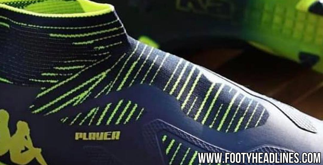 ada5cda0275 A picture showing the first-ever laceless football boot from Kappa has been  leaked. Called the Kappa Player 2019 soccer shoes