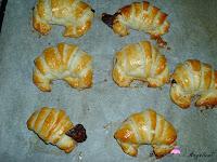 Croissants horneados