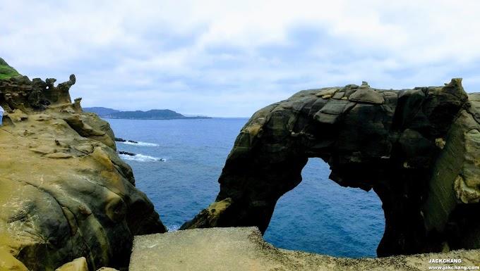 新北瑞芳|深澳岬角【象鼻岩】+ 番仔澳酋長岩公園-打卡秘境