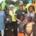 Iara Oshiomole visits IDP camp in Benin, donates N2m (PHOTOS)