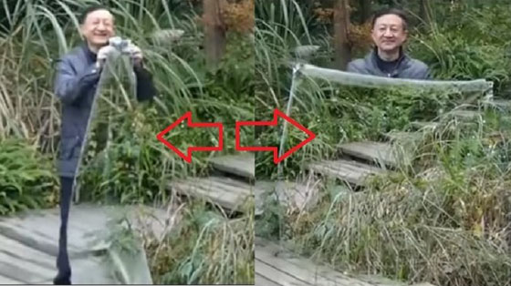Video Pria Ini Pamerkan Jubah Tembus Pandang dan Mendadak Viral