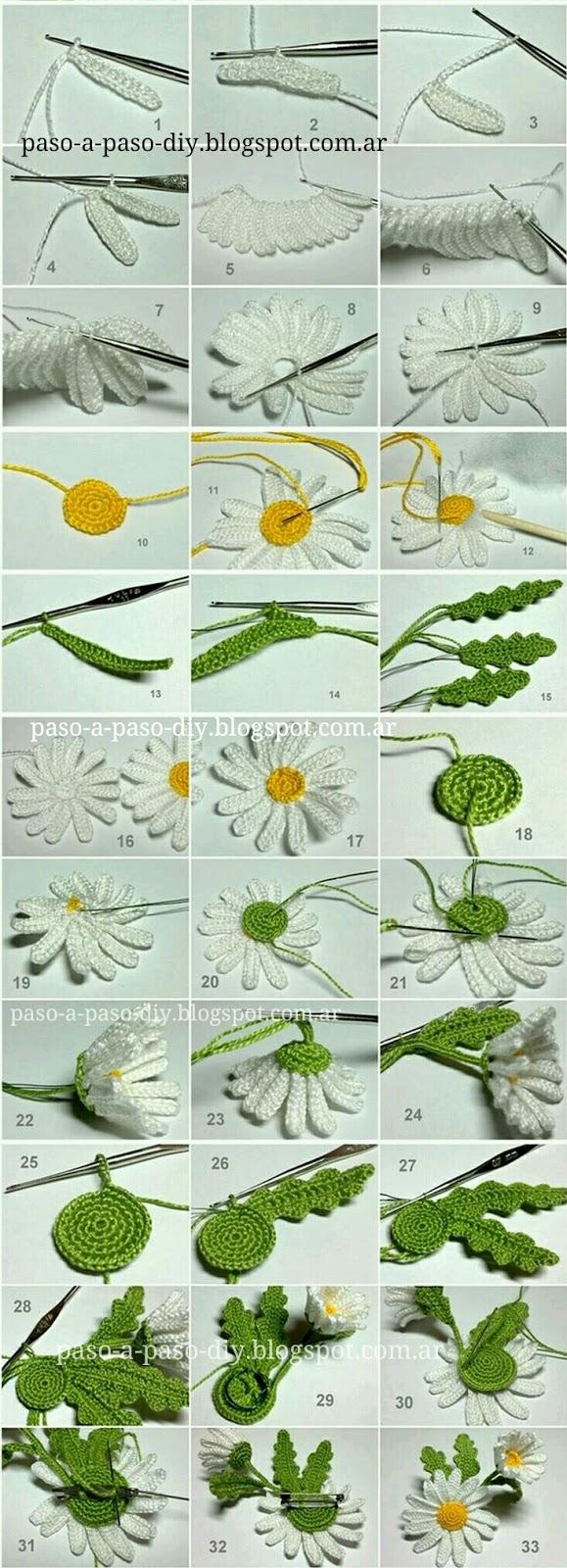 Como hacer un giraadol al crochet