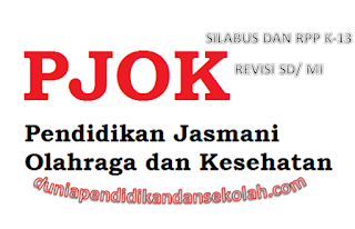 Download Silabus Dan Rpp K-13 Revisi 2017 Semester Two Kelas Two Sd Pjok/ Penjas