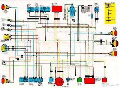 motorparade: wired beauties 1984 honda xr200 wiring diagrams #13