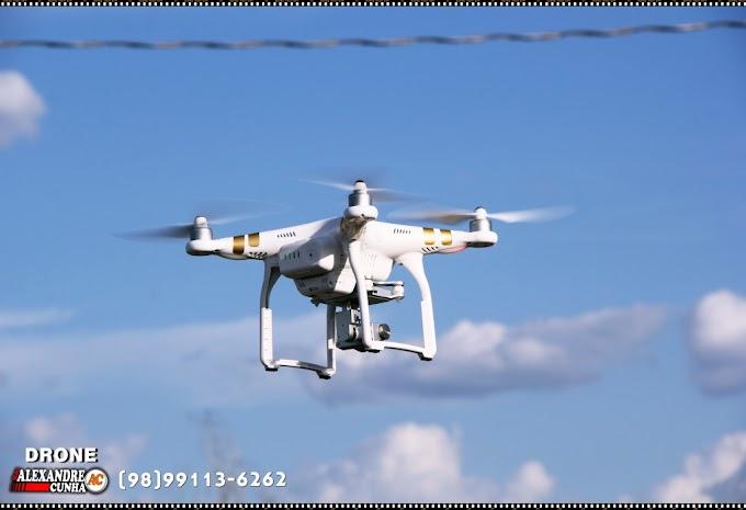 Blog Alexandre Cunha investe em tecnologia e agora está realizando imagens e fotografias aéreas através de Drone