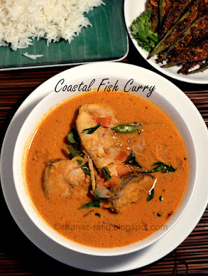 Coastal Fish Curry ~ King Fish Curry ~ Surmai Curry