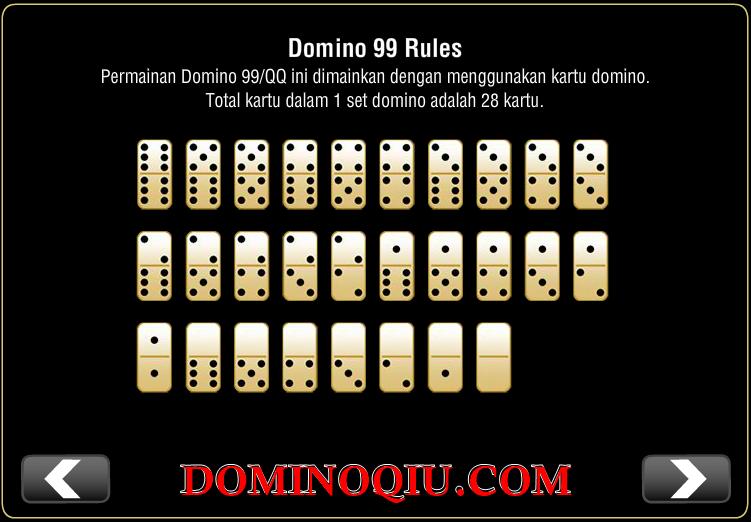 panduan cara bermain domino qiu qiu